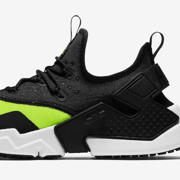 801b85510fd4f Nike Air Huarache Drift Volt Toe Mens Size 10-12